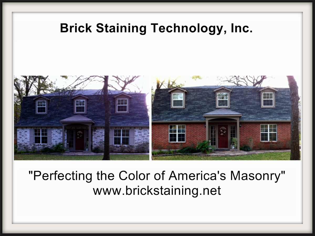 brick multi-color staining